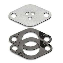 EGR valve blanking plate with gaskets for Fiat Alfa Romeo Lancia Opel Saab 1.9 8V 2.4 10V JTDM CDTI engines