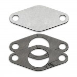 EGR valve blanking plate with gaskets for Nissan 3.0 ZD30 engines