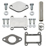 4 mm EGR valve blanking plates with gaskets for Fiat Alfa Romeo Lancia Opel Vauxhall Saab with 1.9 2.4 JTDM CDTI TiD engines