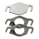 EGR valve blanking plate with gaskets for Renault Nissan Dacia Suzuki 1.5 dCi DDiS