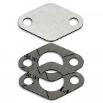 EGR valve blanking plate with gaskets for Fiat Alfa Romeo Lancia 1.9 2.4 JTD engines