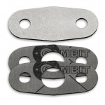 EGR valve blanking plate with gaskets for Ford Mondeo 1.8 2.0 16V 2.5 V6