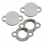 EGR valve blanking plate with gaskets for Volkswagen Transporter T5 2.0 BiTDI CFCA engines
