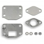 4 mm EGR valve blanking plates with gaskets for Mitsubishi with 4M41 3.2 DI-D engines