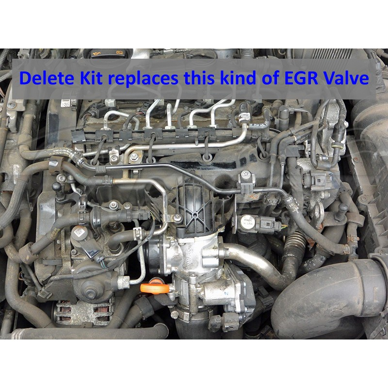 EGR Removal Delete Kit for VW Audi Seat Skoda with 2 0 TDI CBBB CAGA