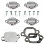 Swirl Flap Replacement + EGR valve blanking plate with gaskets for Opel Vauxhall Chevrolet 2.0 CDTI Saab 1.9 2.0 TTiD