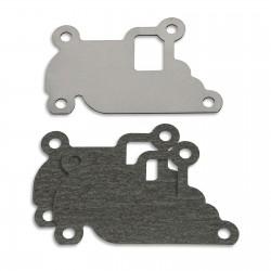 AGR Ventil Verschlussplatte mit Dichtungen für Opel 1.0 12V, 1.2, 1.4 16V