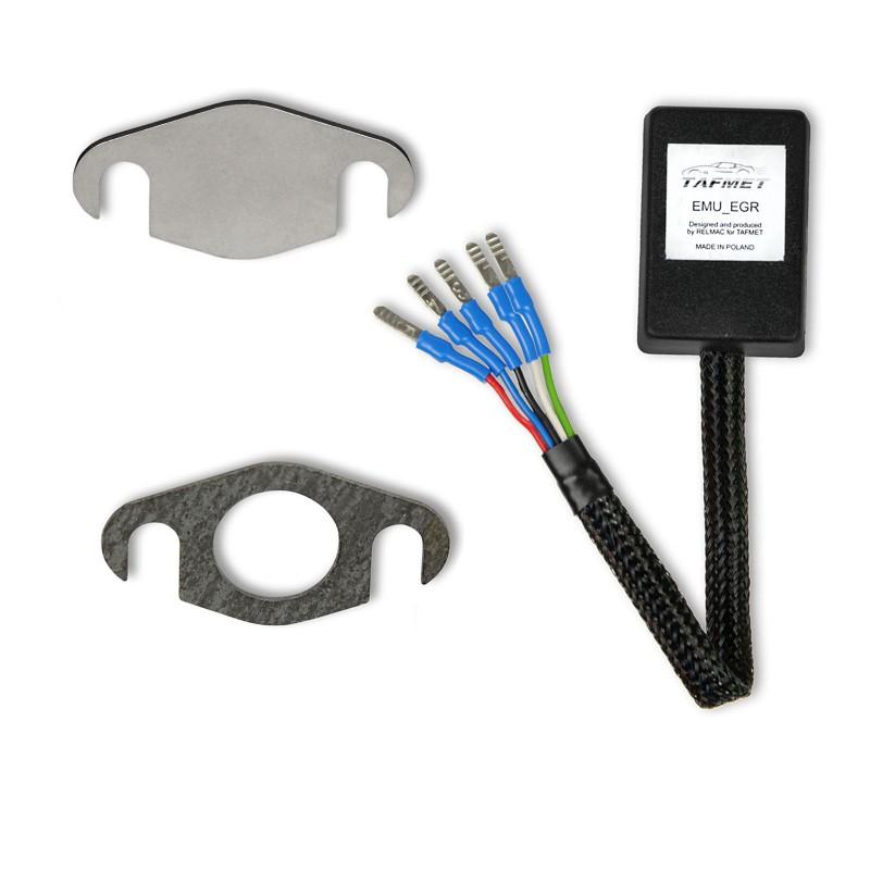 AGR-Ventil Simulator für OPEL / FIAT / SAAB Motoren mit elektrischem AGR-Ventil 1.9 2.4 JTD CDTI TiD (5-Pin Stecker)