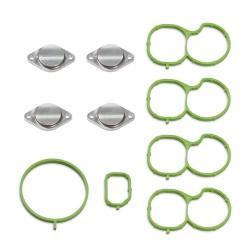 Drallklappen Entfernung Set mit Dichtungen für Opel Chevrolet 2.0 CDTI Saab 1.9 2.0 TTiD Motoren